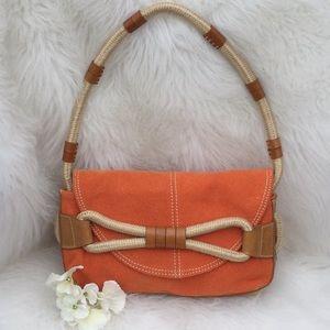 🆕BCBGirls Canvas Convertible Shoulder Bag